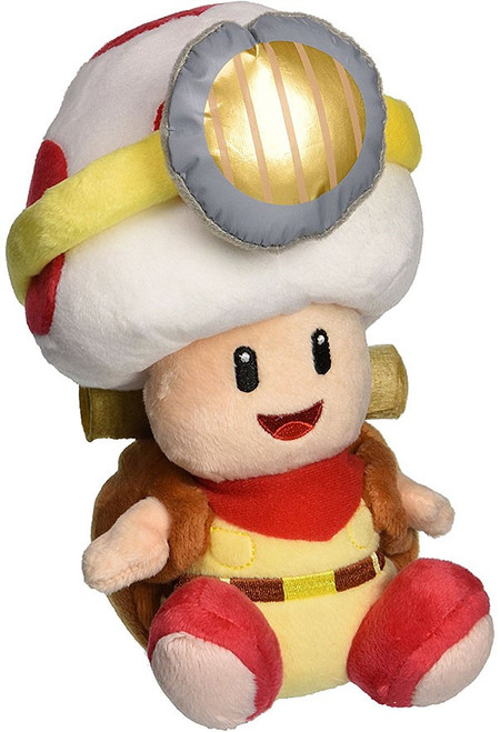 Super Mario Galaxy Captain Toad 7-Inch Plush
