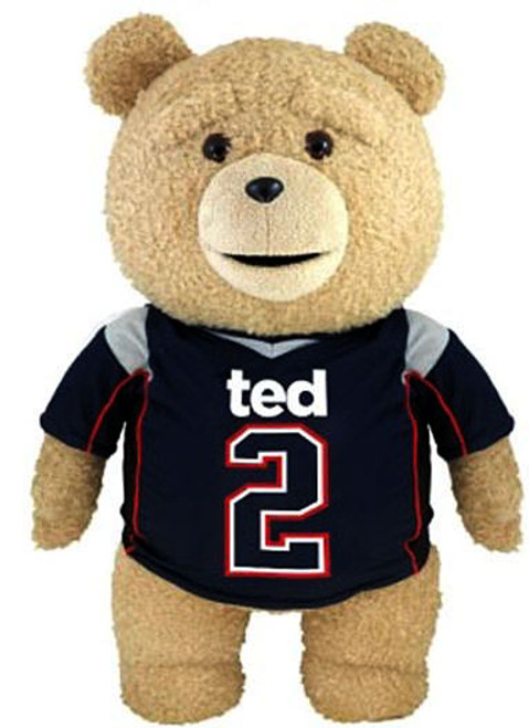 Ted 2 Ted in Jersey 11-Inch Talking Plush [Explicit]