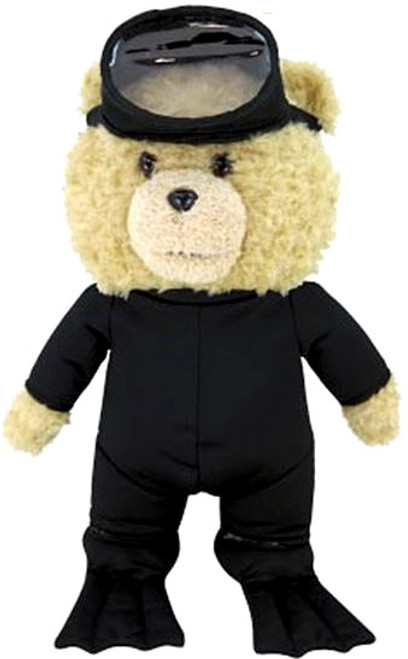 Ted 2 Ted in Scuba Gear 11-Inch Talking Plush [Explicit]