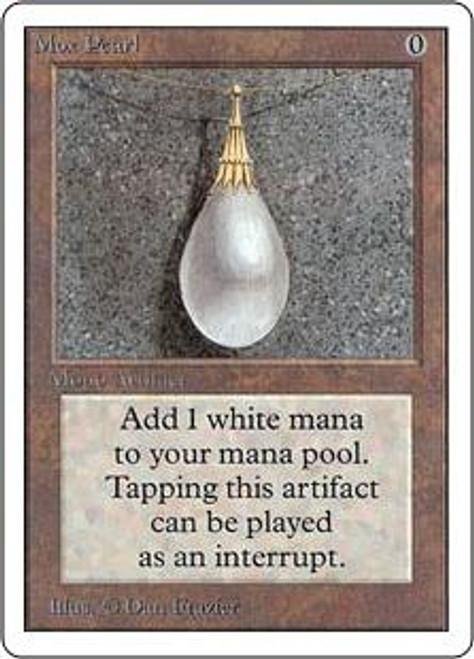 MtG Unlimited Rare Mox Pearl