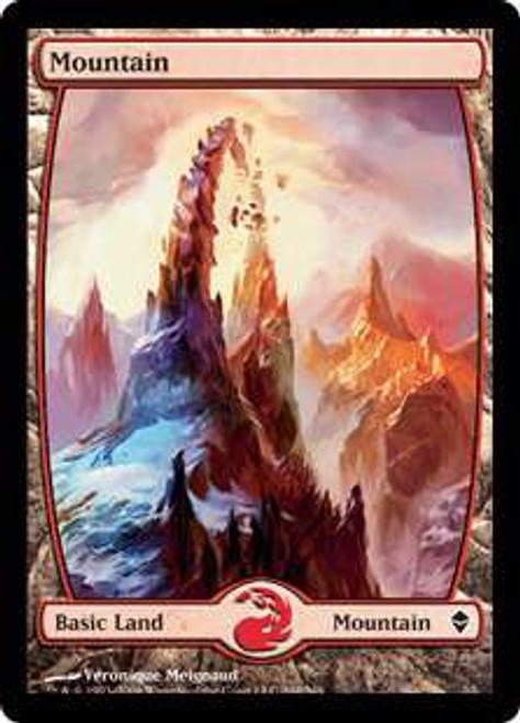 MtG Zendikar Basic Land Mountain #244