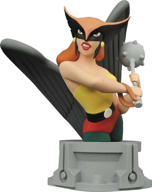 DC JLA Animated Series Hawkgirl 6-Inch Bust