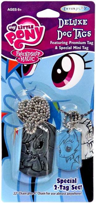My Little Pony Friendship is Magic Applejack & Rainbow Dash Dog Tag 2-Pack