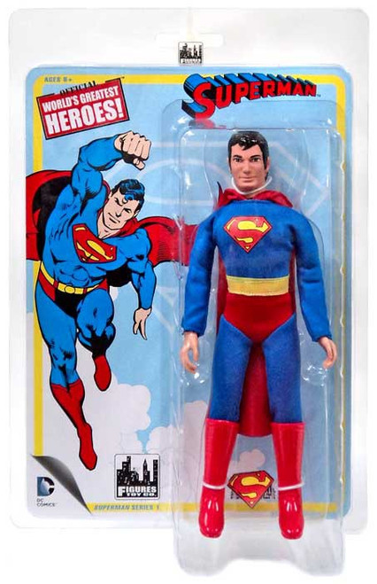 DC World's Greatest Heroes! Series 1 Superman Action Figure