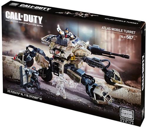 Mega Bloks Call of Duty Atlas Mobile Turret Set #38154