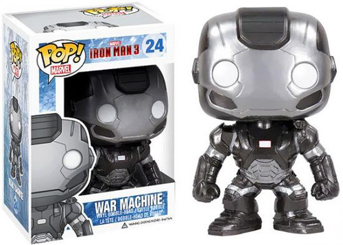 Funko Iron Man 3 POP! Marvel War Machine Vinyl Bobble Head #24