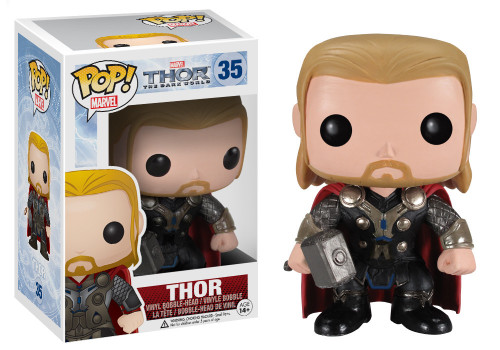 Funko The Dark World POP! Marvel Thor Vinyl Figure #35 [The Dark World]