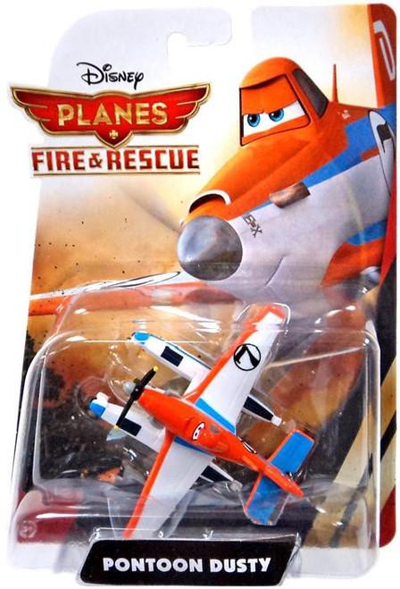 Disney Planes Fire & Rescue Pontoon Dusty Diecast Plane