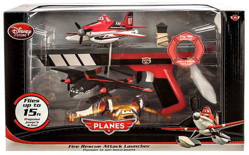 Disney Planes Fire & Rescue Fire Rescue Attack Launcher Playset [Black Box]