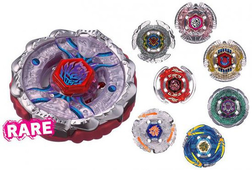 Beyblade Metal Fusion Japanese Vol. 9 Booster BB-123