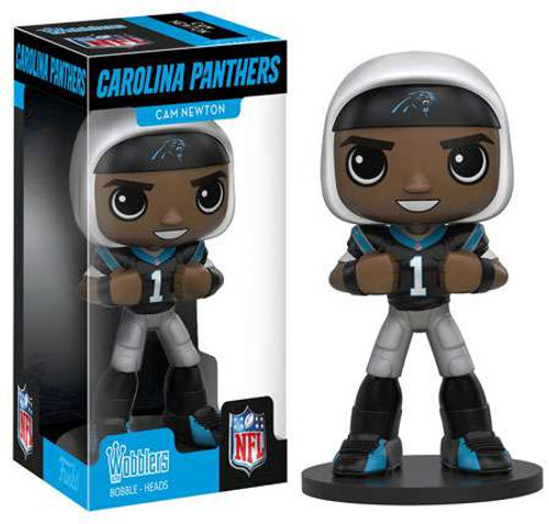 Funko NFL Carolina Panthers POP! Sports Football Cam Newton Bobble Head