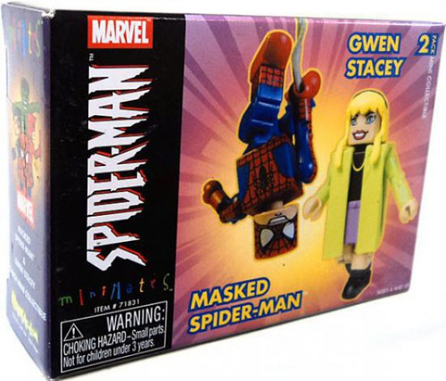 Minimates Masked Spider-Man & Gwen Stacy Minifigure 2-Pack