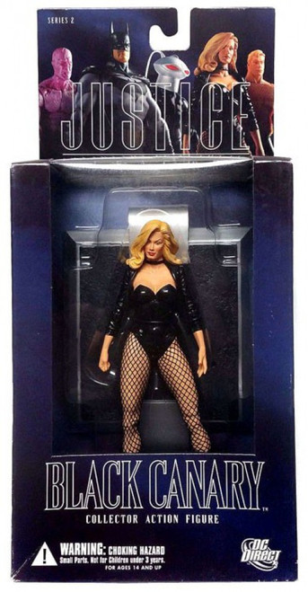 DC Alex Ross Justice League Series 2 Black Canary Action Figure