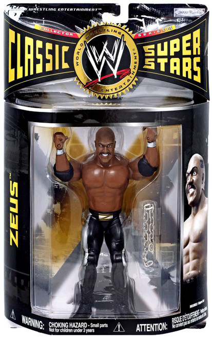WWE Wrestling Classic Superstars Series 15 Zeus Action Figure