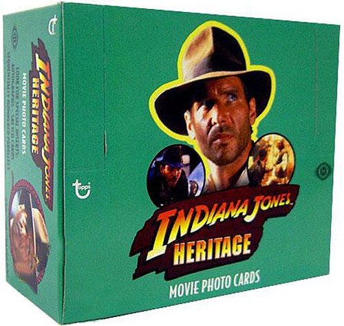 Topps Indiana Jones Heritage Trading Card HOBBY Box [24 Packs]