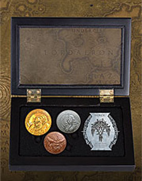 World of Warcraft Collectible Coin Set Horde