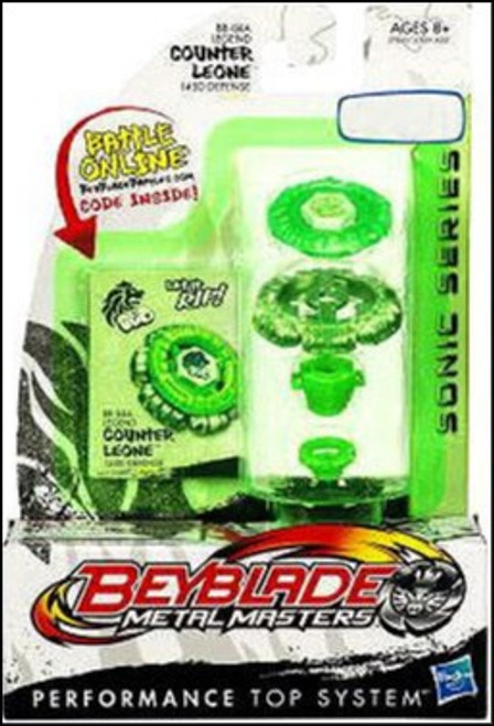 Beyblade Metal Masters Sonic Series Legend Counter Leone Exclusive BB-04A