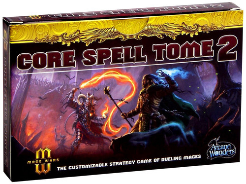 Mage Wars Core Spell Tome 2 Board Game Expansion