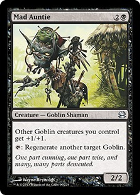 MtG Modern Masters Uncommon Foil Mad Auntie #90