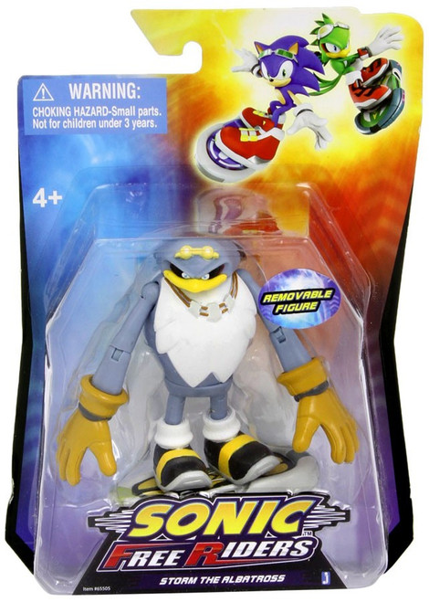 Sonic The Hedgehog Free Riders Storm Action Figure