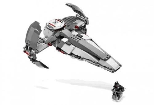LEGO Star Wars Phantom Menace Sith Infiltrator Exclusive Set #7663 [Loose]