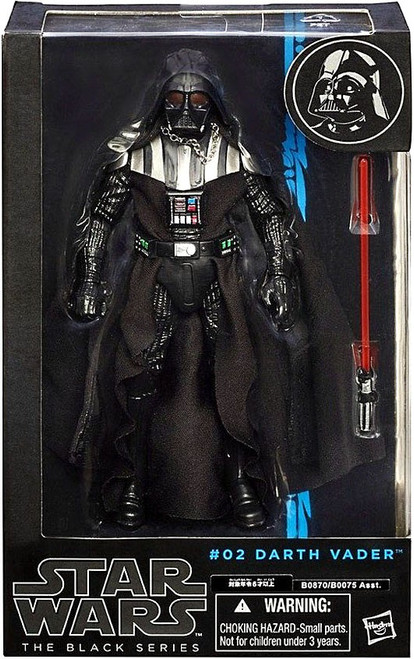 Star Wars Black Series Wave 5 Darth Vader Action Figure #02