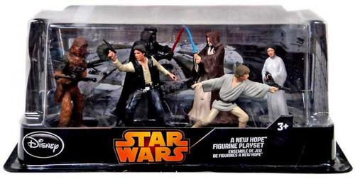 Disney Star Wars A New Hope Exclusive Figurine Playset