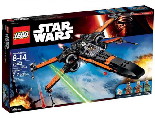 LEGO Star Wars The Force Awakens Poe's X-Wing Set #75102