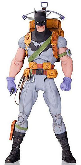 DC Designer Greg Capullo Series 4 Survival Suit Batman Action Figure