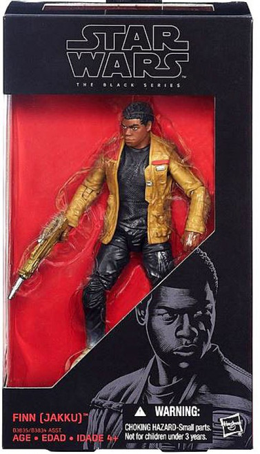 Star Wars The Force Awakens Black Series Finn (Jakku) Action Figure