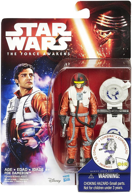 Star Wars The Force Awakens Jungle & Space Poe Dameron Action Figure