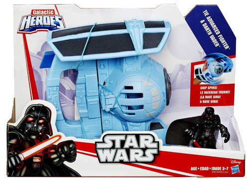 Star Wars Galactic Heroes Tie Advanced Fighter & Darth Vader Vehicle