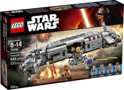 LEGO Star Wars The Force Awakens Resistance Troop Transporter Set #75140