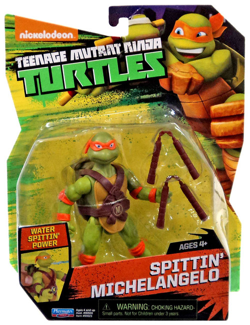 Teenage Mutant Ninja Turtles Nickelodeon Spittin' Michelangelo Action Figure