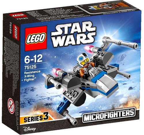 LEGO Star Wars The Force Awakens Microfighters Series 3 Resistance X-Wing Fighter Set #75125