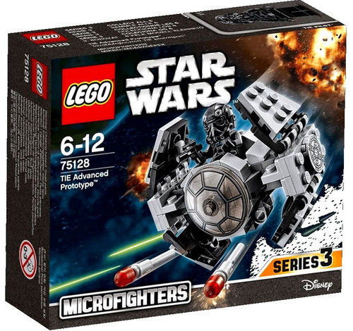 LEGO Star Wars The Force Awakens Microfighters Series 3 TIE Advanced Prototype Set #75128
