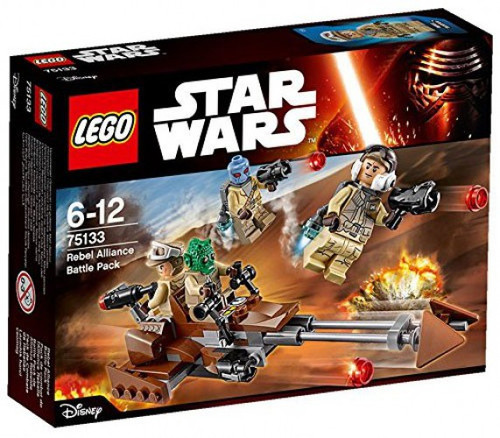 LEGO Star Wars The Force Awakens Rebel Alliance Battle Pack Set #75133