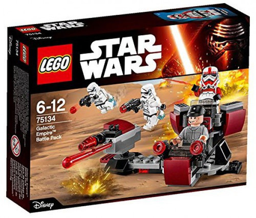 LEGO Star Wars The Force Awakens Galactic Empire Battle Pack Set #75134