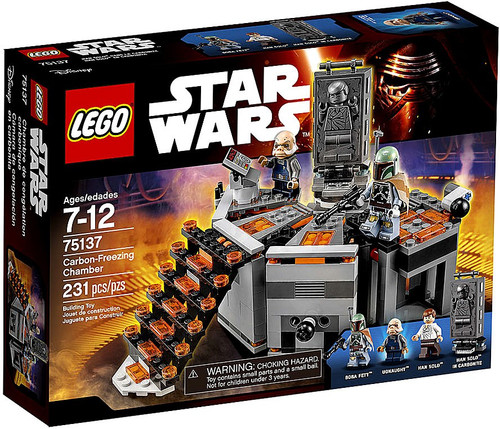LEGO Star Wars The Empire Strikes Back Carbon Freezing Chamber Set #75137