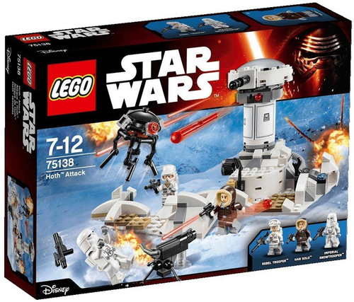 LEGO Star Wars The Force Awakens Hoth Attack Set #75138