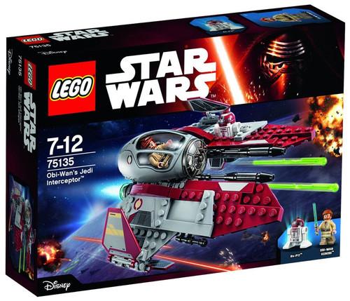 LEGO Star Wars The Force Awakens Obi-Wan's Jedi Interceptor Set #75135