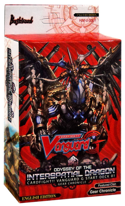 Cardfight Vanguard Trading Card Game Odyssey of the Interspatial Dragon 01 Start Deck VGE-G-SD01