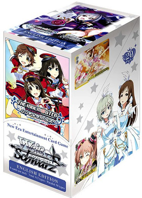 Weiss Schwarz The Idol Master: Cinderella Girls! Booster Box [20 Packs]
