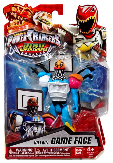 Power Rangers Dino Super Charge Game Face Action Figure