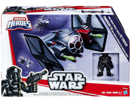 Star Wars The Force Awakens Galactic Heroes First Order Special Forces TIE Fighter Vehicle