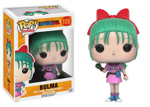 Funko Dragon Ball POP! Animation Bulma Vinyl Figure #108
