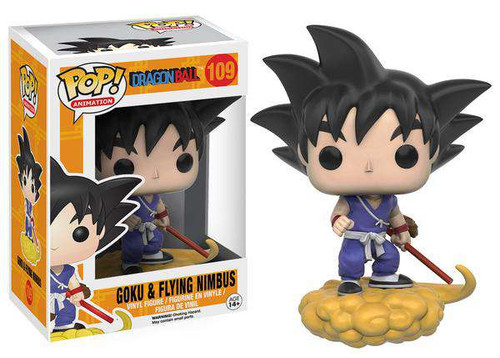 Funko Dragon Ball POP! Animation Goku & Flying Nimbus Vinyl Figure #109