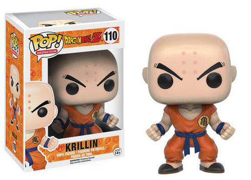 Funko Dragon Ball Z POP! Animation Krillin Vinyl Figure #110