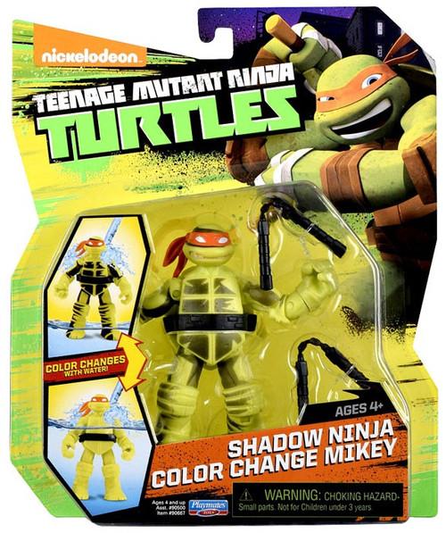 Teenage Mutant Ninja Turtles Nickelodeon Shadow Ninja Color Change Mikey Action Figure