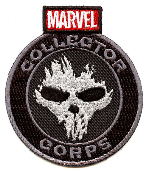 Funko Marvel Collector Corps Crossbones Patch